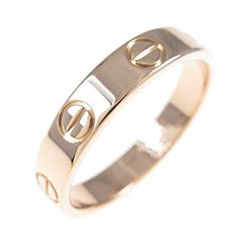 Cartier 18K Pink Gold Mini Love ring TkM-103