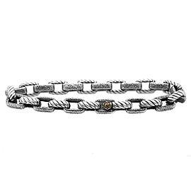 David Yurman Textured Empire Link Bracelet