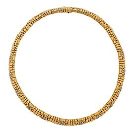 Bvlgari Bulgari Parentesi Gold Diamond Necklace