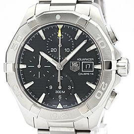 Polished TAG HEUER Aquaracer Calibre 16 Chronograph Mens Watch CAY2110