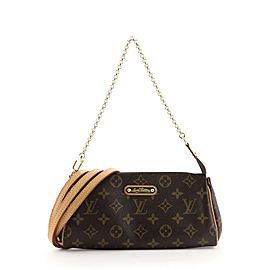Louis Vuitton Eva Handbag Monogram Canvas