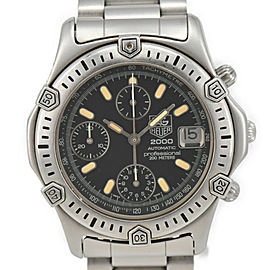 TAG HEUER 2000 169.306/1 Black Dial Chronograph Automatic Men's Watch