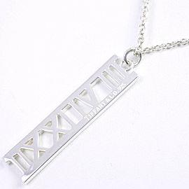 TIFFANY & Co. 925 Silver Atlas Necklace