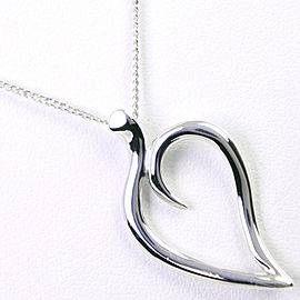 TIFFANY&Co Silver925 heart Necklace