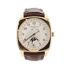 Vacheron Constantin Harmony Complete Calendar Automatic Watch Rose Gold and Alligator 40
