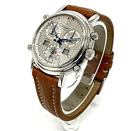 CHOPARD Mille Miglia 8309 Stainlees Steel/Leather Chronograph Watch