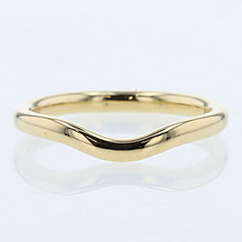 TIFFANY & Co 18k Yellow gold Curved band Ring