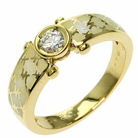 Korloff Diamond 18k Yellow Gold Ring