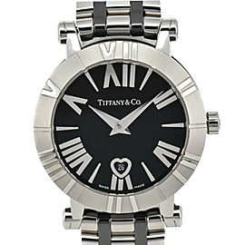TIFFANY&Co. Atlas Z1301.11.11A10A00A black Dial Quartz Ladies Watch