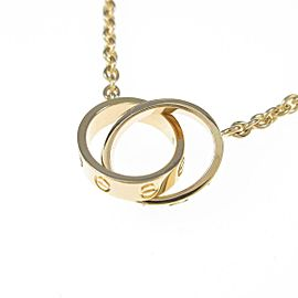 Cartier 18k yellow Gold Baby Love necklace