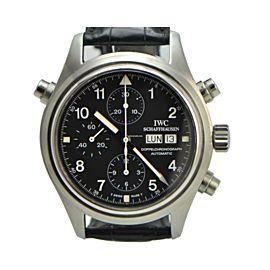 IWC Doppel Spitfire 3713 Stainless Steel 42mm Mens Watch