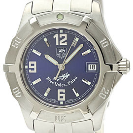 Polished TAG HEUER 2000 Exclusive Palau LTD Edition Steel Watch WN1116