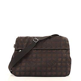 Chanel Travel Line Messenger Bag Nylon Large