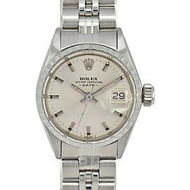 ROLEX Oyster Perpetual Date No.9 6517 SS Cal.1161 Automatic Ladies Watch