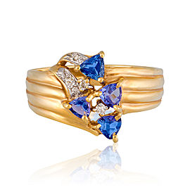 LLe Vian Certified Pre-Owned Tanzanite 14K Honey Gold Ring
