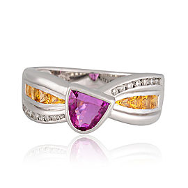 Le Vian Certified Pre-Owned Ring Bubblegum Pink Sapphire Ring