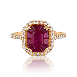 Le Vian Certified Pre-Owned Precious Stones 14K Honey Gold Ring