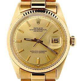 Rolex Datejus 1601 36mm Mens Watch