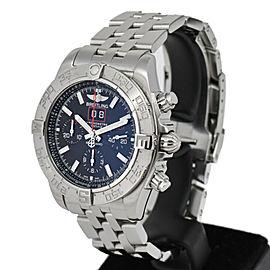 BREITLING Chronomat Blackbird A44360 World Limited Automatic Men's Watch
