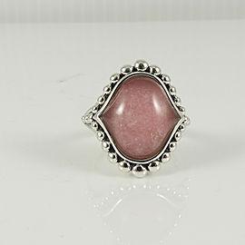 Lagos Sterling Silver Maya Rhodochrosite Doublet Ring