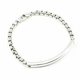 Tiffany & Co. Sterling Silver Venetian Link I.D. Bracelet CHAT-216