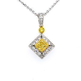 Jack Kelege LPN 233-1 Platinum Diamonds Necklace