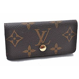 Louis Vuitton Monogram Multicles 4 Four Hooks Key Case M62631