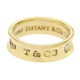 Tiffany & Co. 1997 18K Yellow Gold Ring Size 6