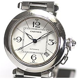 Cartier Pasha Stainless Steel Automatic 35mm Mens Watch