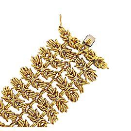 Bulgari Hercules Knot Gold Bracelet