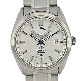 ORIENT SFD0F001W0-J Silver Dial Date Power reserve Automatic Men's Watch
