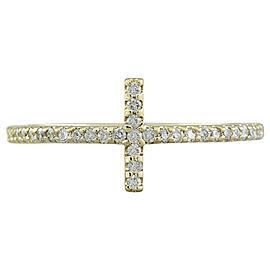 0.35 Carat 14K Yellow Gold Diamond Ring