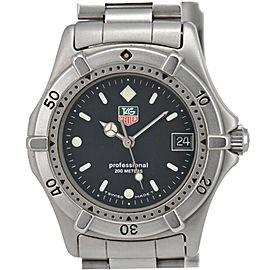 TAG HEUER 2000 962.013F Professional 200 m Black Dial Quartz Boy's Watch