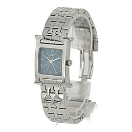HERMES H watch HH1.210 blue Dial Quartz Ladies Watch