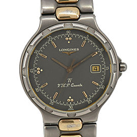 LONGINES Conquest L1.613.9 gray Dial Quartz Men's Watch