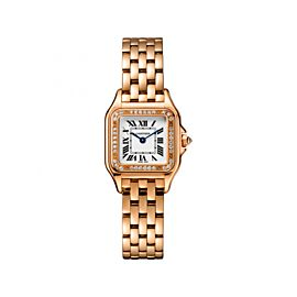 Cartier Panthere de WJPN0008 18K Rose Gold 22mm Womens Watch