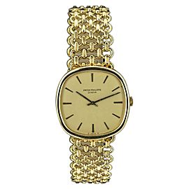 Patek Phillipe Cushion Ellipse 3844 002 33mm Men's Watch