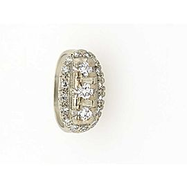 14K White Gold 0.75ctw. Vintage Diamond Ring Size 7.25