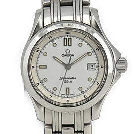 OMEGA Seamaster 120M White Dial Quartz Ladies Watch