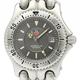 Polished TAG HEUER Sel Professional 200M Steel Ladies Watch WG1313