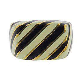 David Webb Ruby Diamond Enamel Gold Zebra Brooch Pin
