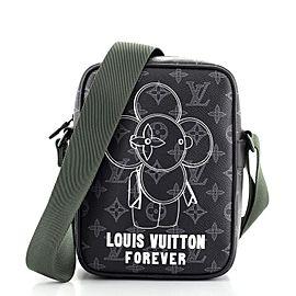 Louis Vuitton Danube Handbag Limited Edition Vivienne Monogram Eclipse PM
