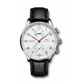 IWC Portuguese Schaffhausen IW371401 Stainless Steel 41mm Unisex Watch