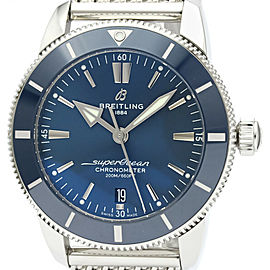 BREITLING Stainless Steel SuperOcean Heritage II Watch HK-2363