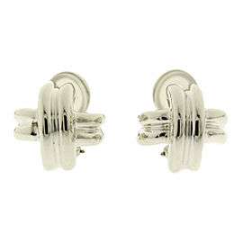Tiffany & Co. Silver Signature Earring