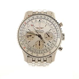 Breitling Navitimer Chronograph Automatic Watch Stainless Steel 42