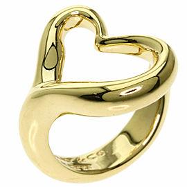 TIFFANY & Co. 18k Yellow Gold Open heart Ring