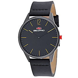 Seapro Men's Black hole