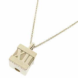 TIFFANY & Co. Silver Cube Necklace
