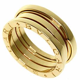 BVLGARI 18k Yellow Gold B-zero1 Ring